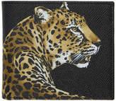 Dolce & Gabbana Black Leopard Wallet