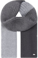 Armani Junior Colour Block Knitted Scarf 8-12 Years