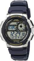 Casio Men's '10-Year Battery' Quartz Resin Watch (Model:AE-1000W-2AVcf)