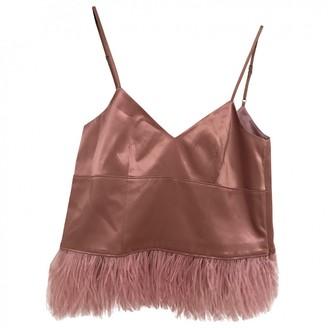 Cinq à Sept Pink Silk Top for Women