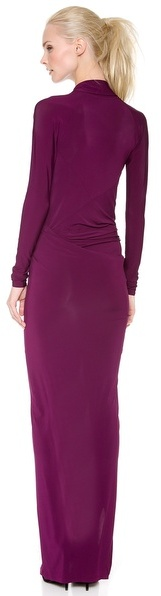 Donna Karan Plunge V Evening Gown