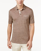 Tasso Elba Men's Linen Pique Polo, Only at Macy's
