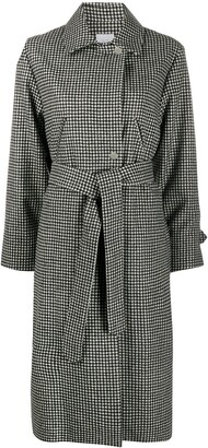Roseanna Belted Check Coat