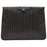 Alaia Black Leather Clutch bag