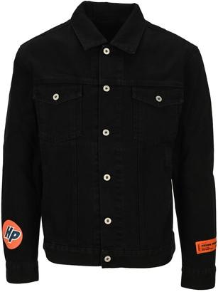 Heron Preston Logo Patch Denim Jacket
