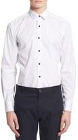 Lanvin Extra Trim Fit Tuxedo Shirt