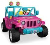 Fisher-Price Power Wheels® BarbieTM Jeep® Wrangler