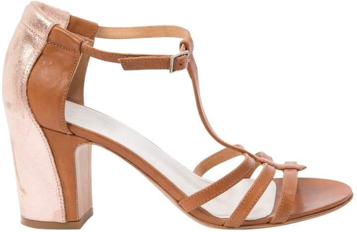 Maison Margiela Camel Leather Sandals