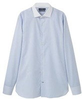 Slim-fit Tailored Fine-stripe Shirt