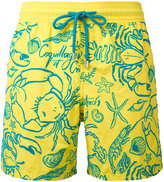 Vilebrequin crab print swim shorts - men - Cotton/Polyamide/Polyester - M