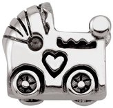 Persona Sterling Silver Baby Carriage Charm fits Pandora, Troll & Chamilia European Charm Bracelets