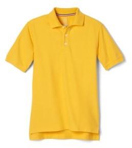 French Toast Boys School Uniform Short Sleeve Pique Polo Shirt, Sizes 4-20 & Husky