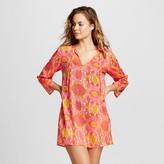 flora by rockflowerpaper Women's Beach Tunic Hillary Pink - RockFlowerPaper