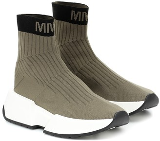MM6 MAISON MARGIELA High-top sock sneakers
