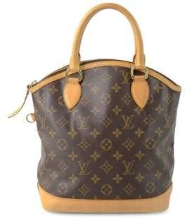 Louis Vuitton Vintage Monogram Lockit PM Canvas Top Handle Bag