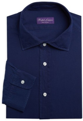Ralph Lauren Purple Label Purple Label Chambray Dress Shirt