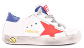 Golden Goose Deluxe Brand Superstar Royal Blue Back Leather Trainers