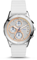 Fossil Modern Pursuit Chronograph White Silicone Watch