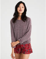 American Eagle AE Lightweight Chenille Pullover Sweater
