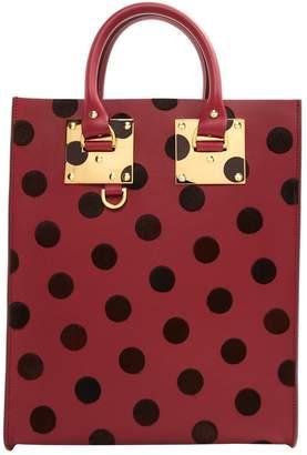 Sophie Hulme Burgundy Leather Handbags