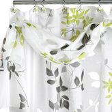 Asstd National Brand Popular Bath Mayan Leaf Shower Curtain with Valance