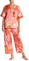 Natori Imperial Garden Short Sleeve Pajama Set