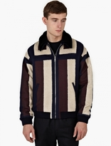 Éditions MR Panelled Lambs Wool Jacket