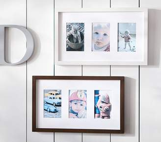 Pottery Barn Kids 3 Opening Gallery Frame Simply White