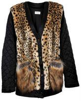 Dries Van Noten Leopard Print Cardigan