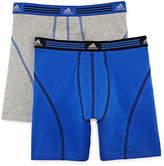 adidas 2-pk. Athletic Stretch Boxer Briefs