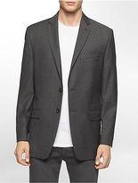 Calvin Klein Mens Classic Fit Herringbone Suit Jacket