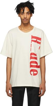 Rhude Off-White Pocket Logo T-Shirt