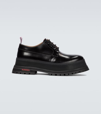 Burberry Jefferson leather Derby shoes
