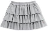 Petit Bateau Girls ruffled skirt