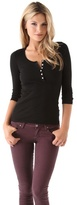 1x1 Henley Top
