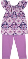 Juicy Couture Baby Soft Woven Antibes Tile 2pc Dress Set