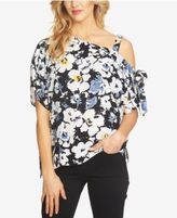 1 STATE 1.STATE Printed One-Shoulder Top