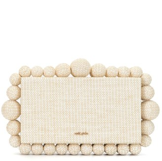 Cult Gaia Eos box clutch bag
