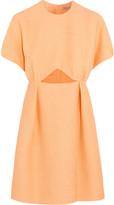 Emilia Wickstead Tinker cutout jacquard mini dress