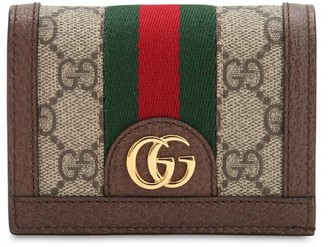 Gucci Ophidia Gg Supreme Compact Wallet