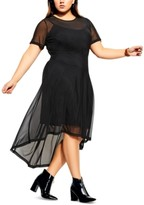City Chic Trendy Plus Size Eternal Dress