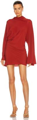 Rick Owens Seb Mini Dress in Cherry | FWRD