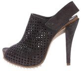 Pedro Garcia Perforated Slingback Booties
