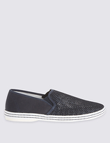 M&s Collection Mesh Espadrille Slip-on Shoes