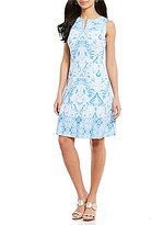 J.Mclaughlin J. McLaughlin Destin Split V-Neck Dress