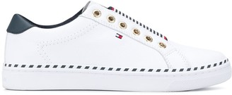 Tommy Hilfiger Striped Elasticated Panel Sneakers
