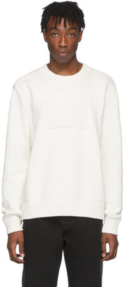 Maison Margiela Off-White Memory Of Label Sweater
