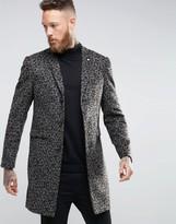 Noose & Monkey Leopard Print Overcoat