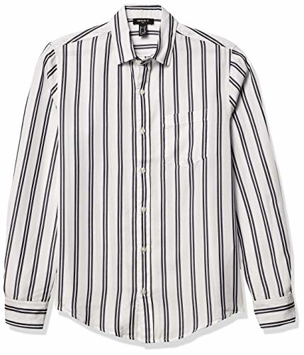 Forever 21 Men's Striped Button-Front Shirt
