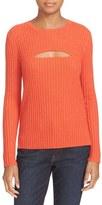 Frame Women's Cutout Wool Blend Sweater